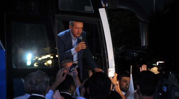 Erdoğan Ankara'ya Coşkuyla Uğurlandı