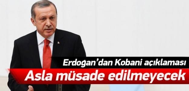 Erdoğan: Asla müsade edilmeyecek