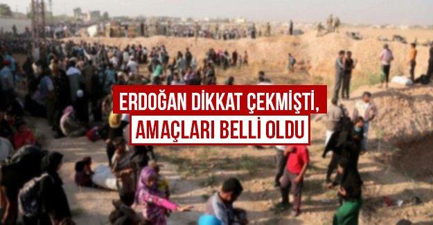 Erdoğan dikkat çekmişti, amaçları belli oldu