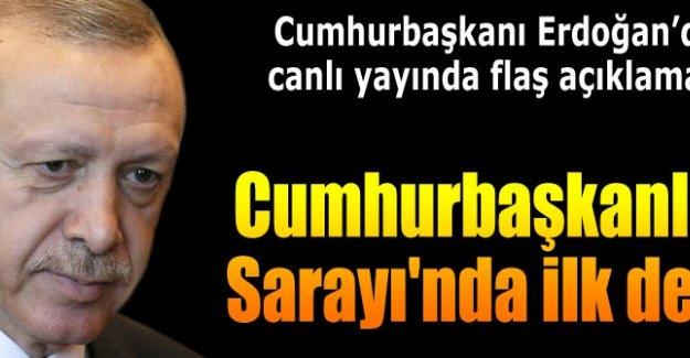Erdoğan gazetecilerin sorularını yanıtlıyor...