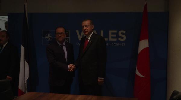 Erdoğan, Hollande, Rajoy Ve Charles İle Görüştü
