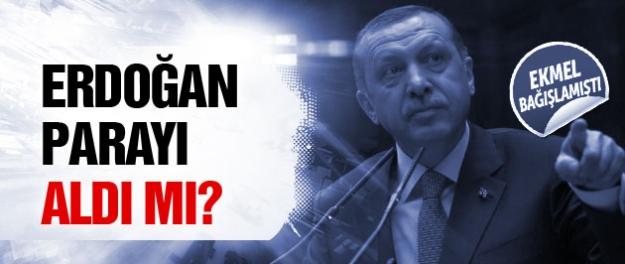 Erdoğan İhsanoğlu'nun bağışını aldı mı?