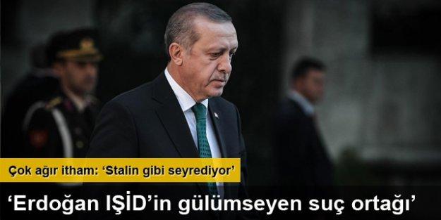 'Erdoğan IŞİD'in gülümseyen suç ortağı'