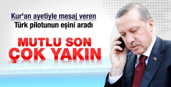 Erdoğan kaçırılan Türk pilotların ailelerini aradı