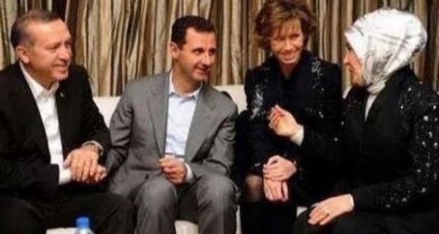 Erdoğan 'Katil Esad'la resim çektirenler kimler' dedi, sosyal medya yıkıldı...