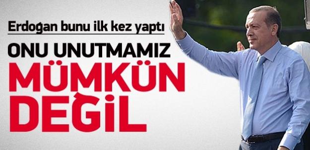 Erdoğan: Kıbrıs'ı unutmamız mümkün değil
