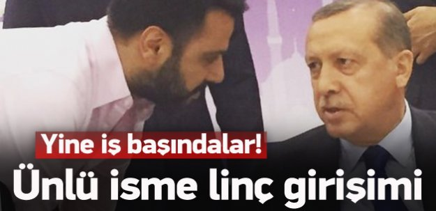 Erdoğan'la fotoğrafını paylaştı, linç edildi