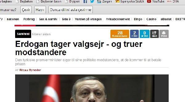 """""""erdoğan, Muhalefeti Tehdit Etti"""""""