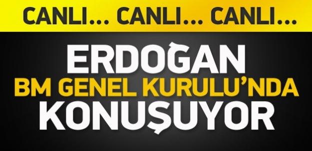 Erdoğan, New York'ta konuşuyor / CANLI