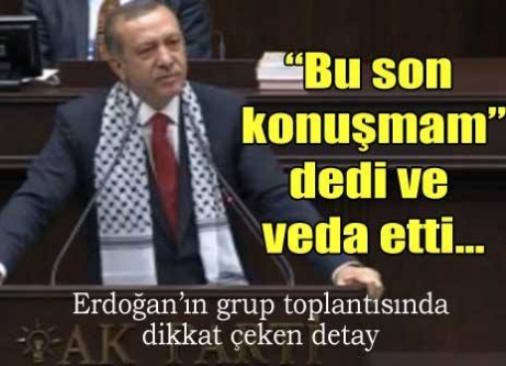 Erdoğan, o görüntüleri izletti