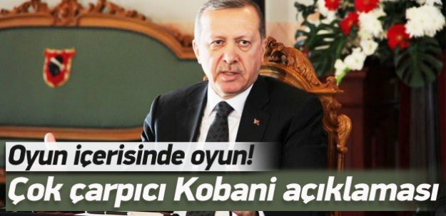 Erdoğan: Tezgahı kuran başka bir mantık