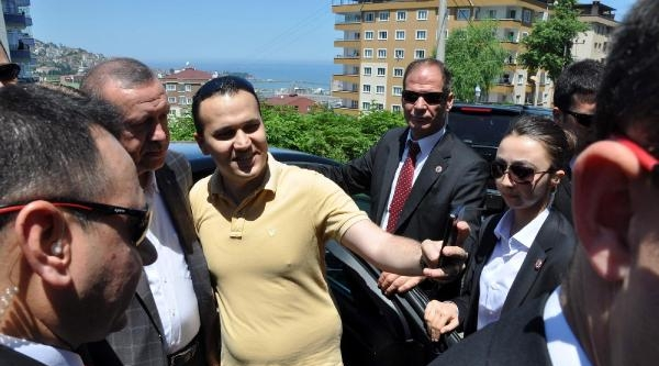 Erdoğan, Trabzon'da Bloomberg İle Görüştü