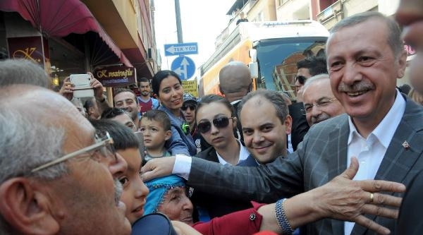 Erdoğan, Trabzon'da Bloomberg İle Görüştü (3)