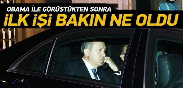 Erdoğan, Türel'e Antalya'daki arıtmaları sordu