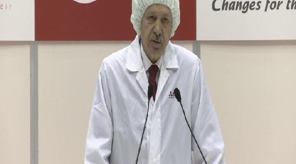Erdoğan Türksat 4A Uydusunun Yapildiği Merkezi Ziyaret Etti