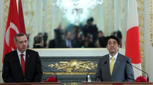 Erdoğan Ve Abe, Ortak Basin Toplantisi Düzenledi