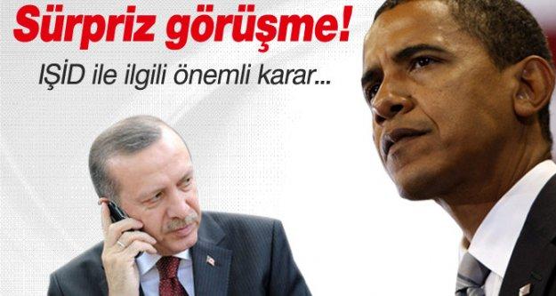 Erdoğan ve Obama arasında sürpriz görüşme...
