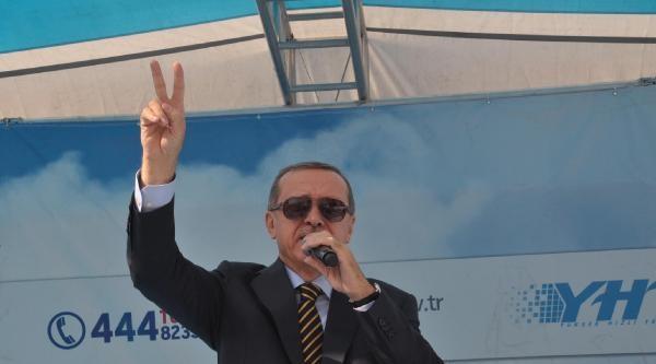 Erdoğan Yht Açılışında İhsanoğlu'na Yüklendi: Bu Toprakların Evladı Biziz Biz (2)