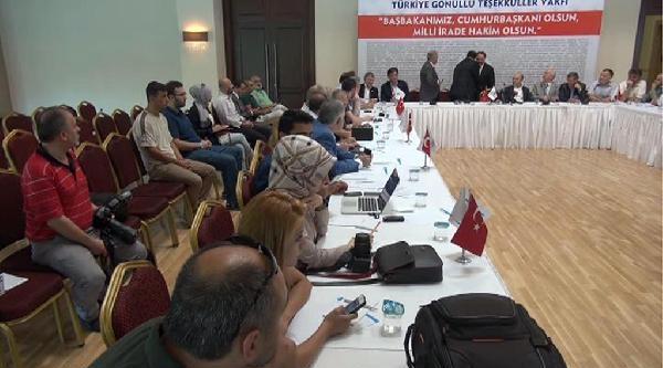 Erdoğan'a Destek Panosunda