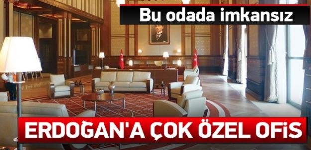 Erdoğan'a Oval Ofis benzeri özel ofis
