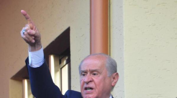 Erdoğan'a, Saddam Benzetmesi Yapan Bahçeli: Milli İradeye Saygıdan Kabul Ediyoruz (2)