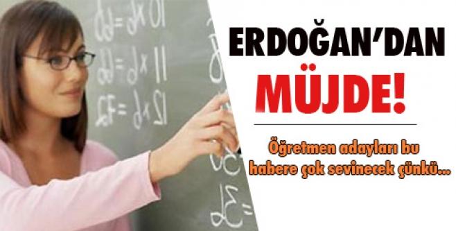 Erdoğan'dan 40 bin atama müjdesi!