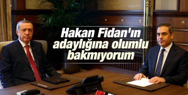 Erdoğan'dan Hakan Fidan değerlendirmesi
