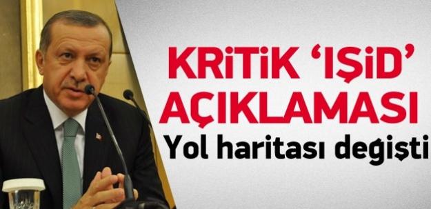 Erdoğan'dan kritik IŞİD açıklaması