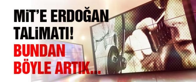Erdoğan'dan MİT'e telekulak talimatı!