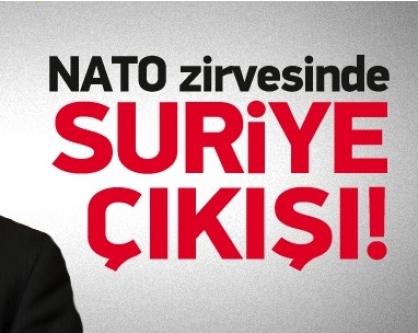 Erdoğan'dan NATO'da Suriye çıkışı