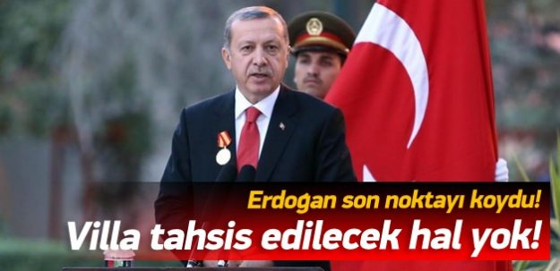 Erdoğan'dan Öcalan açıklaması