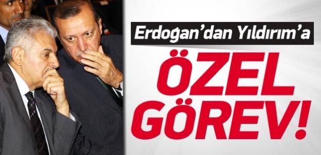 Erdoğan'dan Yıldırım'a özel görev