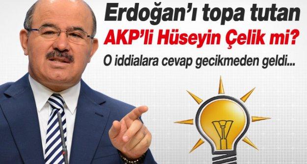 Erdoğan'ı eleştiren AKP'li vekil Hüseyin Çelik mi?