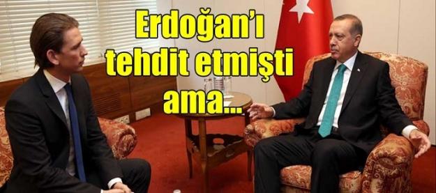 Erdoğan'ı tehdit etmişti ama...