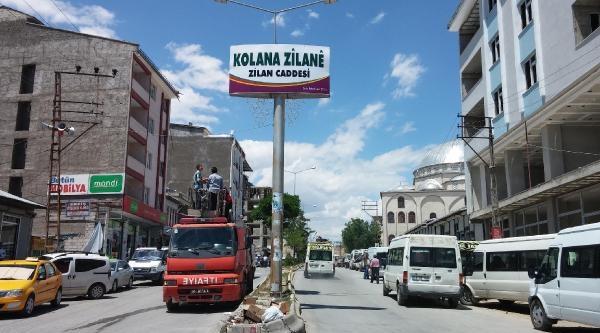 Erdoğan'ın Adı Erciş'te Caddeden Kaldırıldı