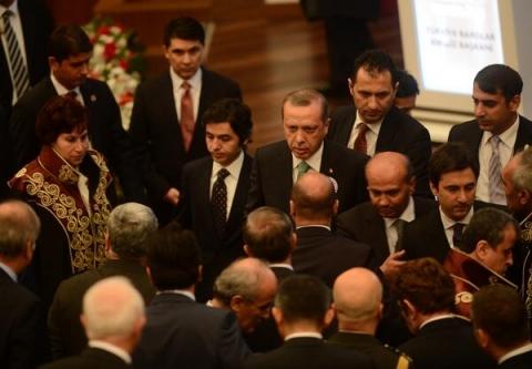 Erdoğan'ın Feyzioğlu Çıkışı Dış Basında...