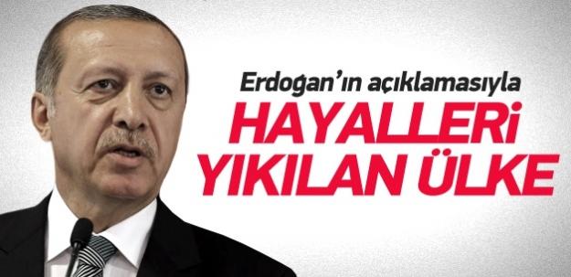 Erdoğan'ın hayallerinı yıktığı ülke!