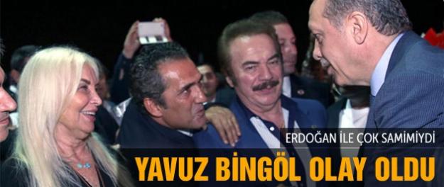 Erdoğan'ın iftarına katılan solcu sanatçı olay oldu