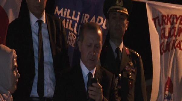 Erdoğan'ın Kısıklı'daki Konuşmasında Mikrofon Krizi