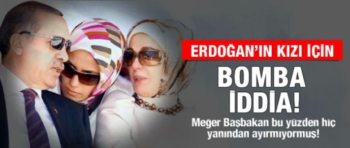 Erdoğan'ın kızı Sümeyya için bomba iddia !