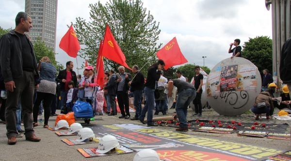 Erdoğan'ın Köln Mitingini Protesto Edecek Gruplar Toplanmaya Başladı
