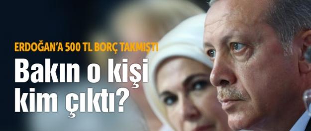 Erdoğan'ın malvarlığındaki borçlu kişi bakın kim çıktı?