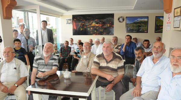 Erdoğan'ın Memleketi Güneysu'da Sevinç