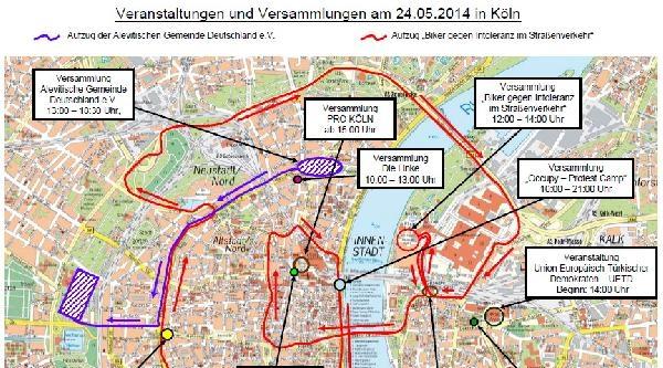 Erdoğan'ın Mitingi Yapacağı Gün Köln'de Hayat Duracak