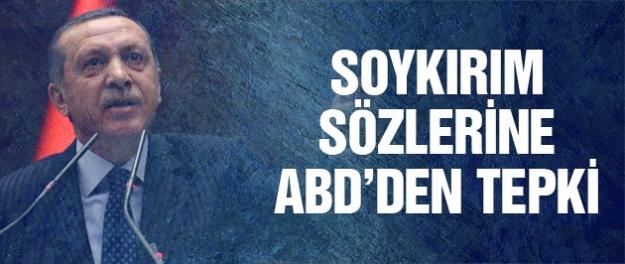 Erdoğan'ın soykırım sözlerine ABD'den sert tepki