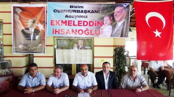 Ereğli'de Çati Adayı İhsanoğlu'na 5 Partiden Destek Açıklaması