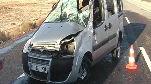 Ereğli'de Kaza: 1 Ölü, 5 Yarali