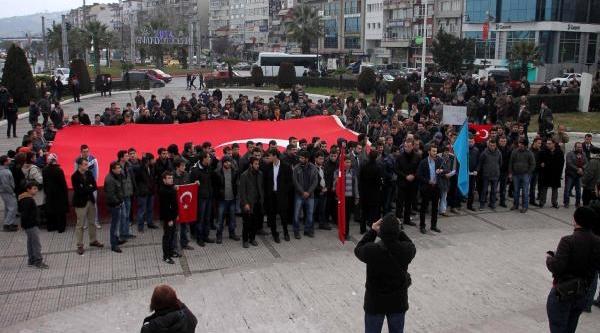 Ereğli'de Uludere Anma Programi Protesto Edildi