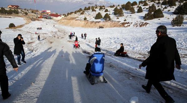 Ergan Daği'nda Kayak Sezonu Kizakla Açildi