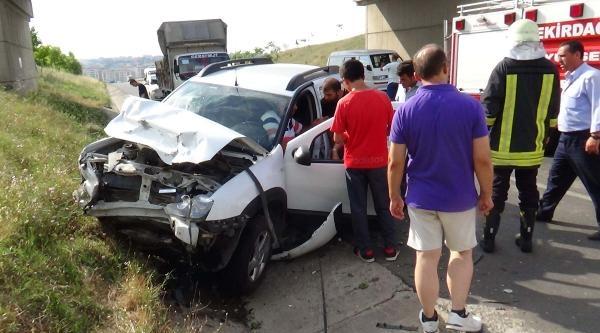 Ergene'de Kaza: 4 Yaralı
